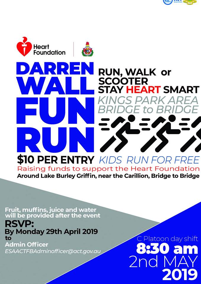 Darren Wall Fun Run